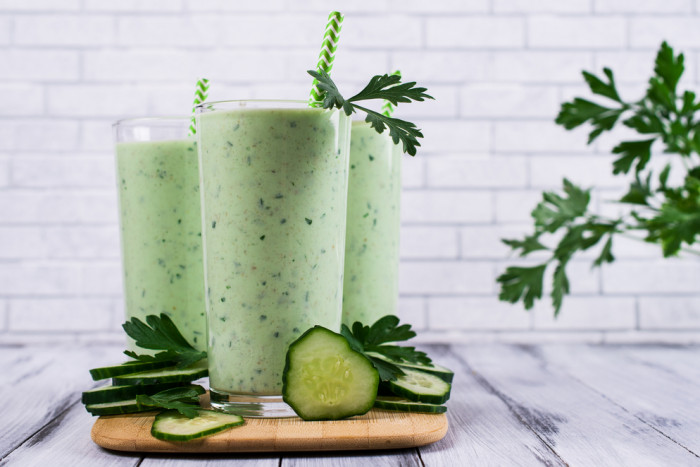 Кефир огурец зелень диета