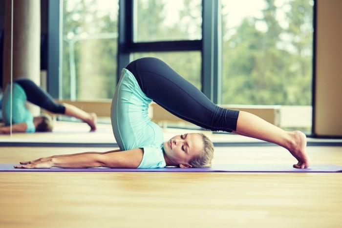 йогу для похудения