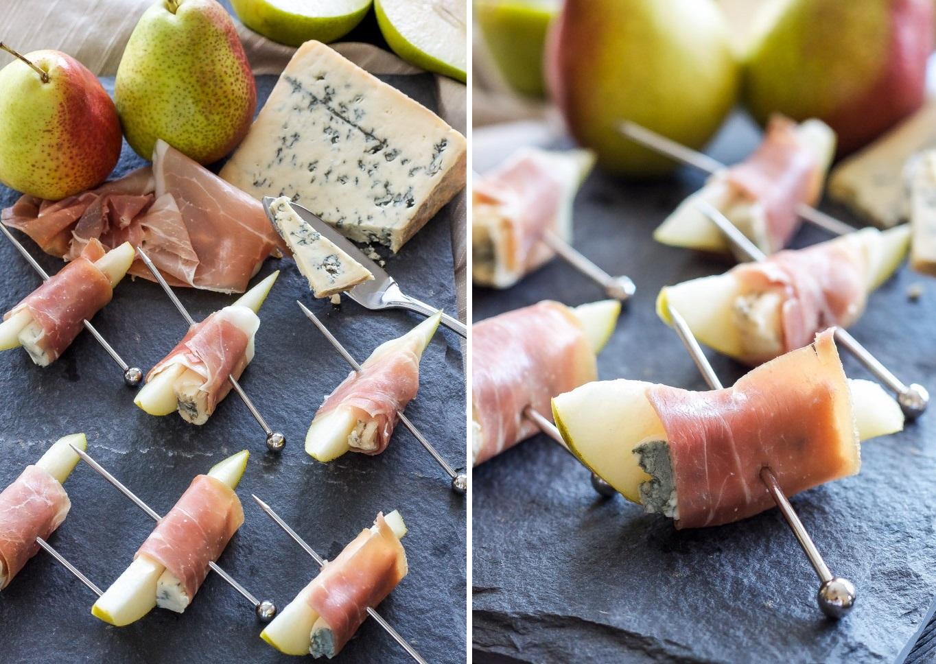 Канапе рецепты с сыром и грушей фото