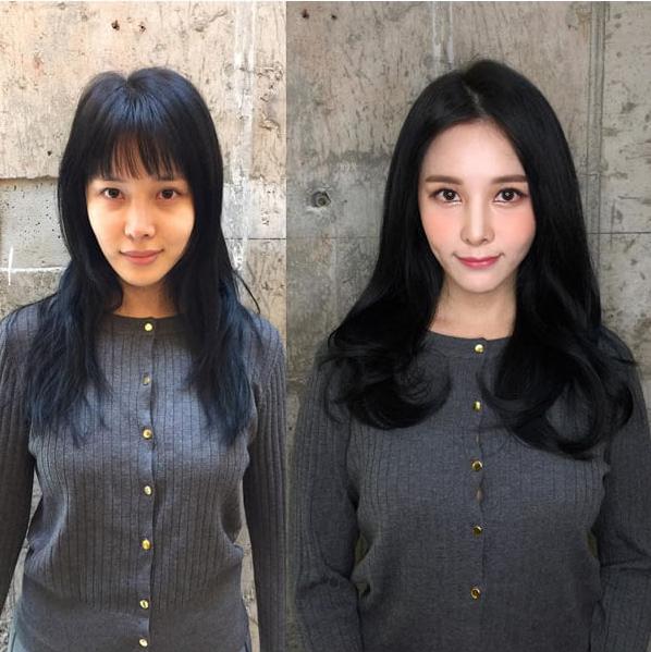 Корейский макияж до и после фото