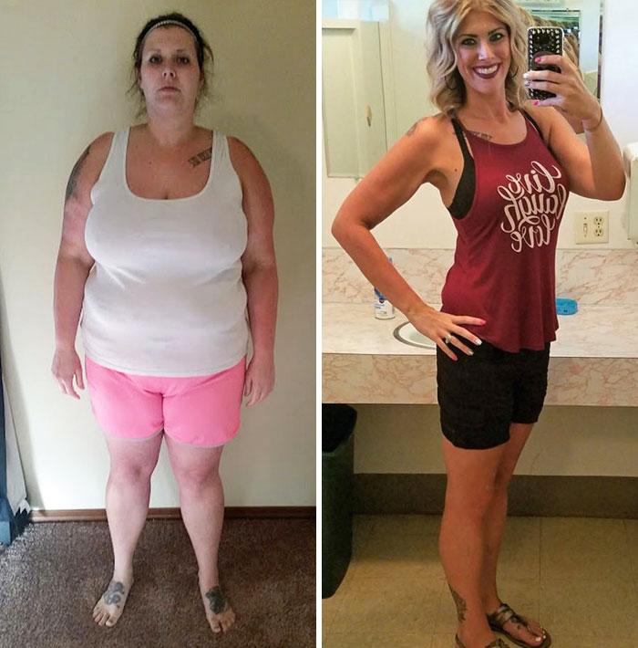 Фото девушки которые похудели