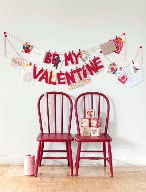 Идеи декора на День святого Валентина