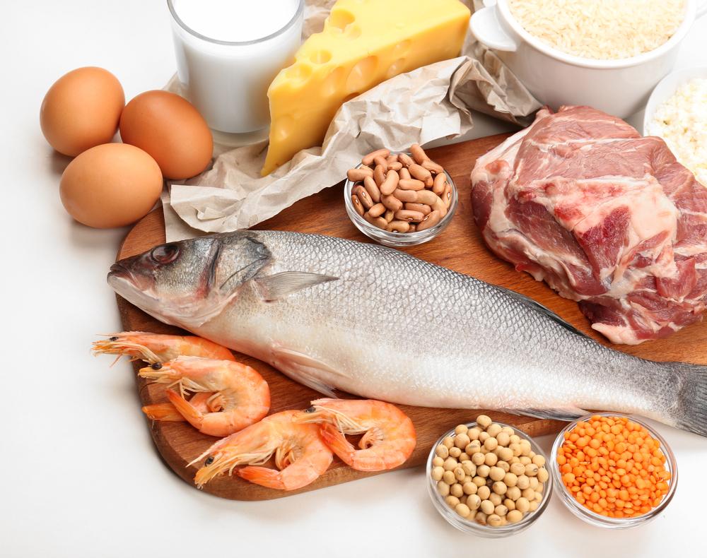 продукты богатые белком картинки