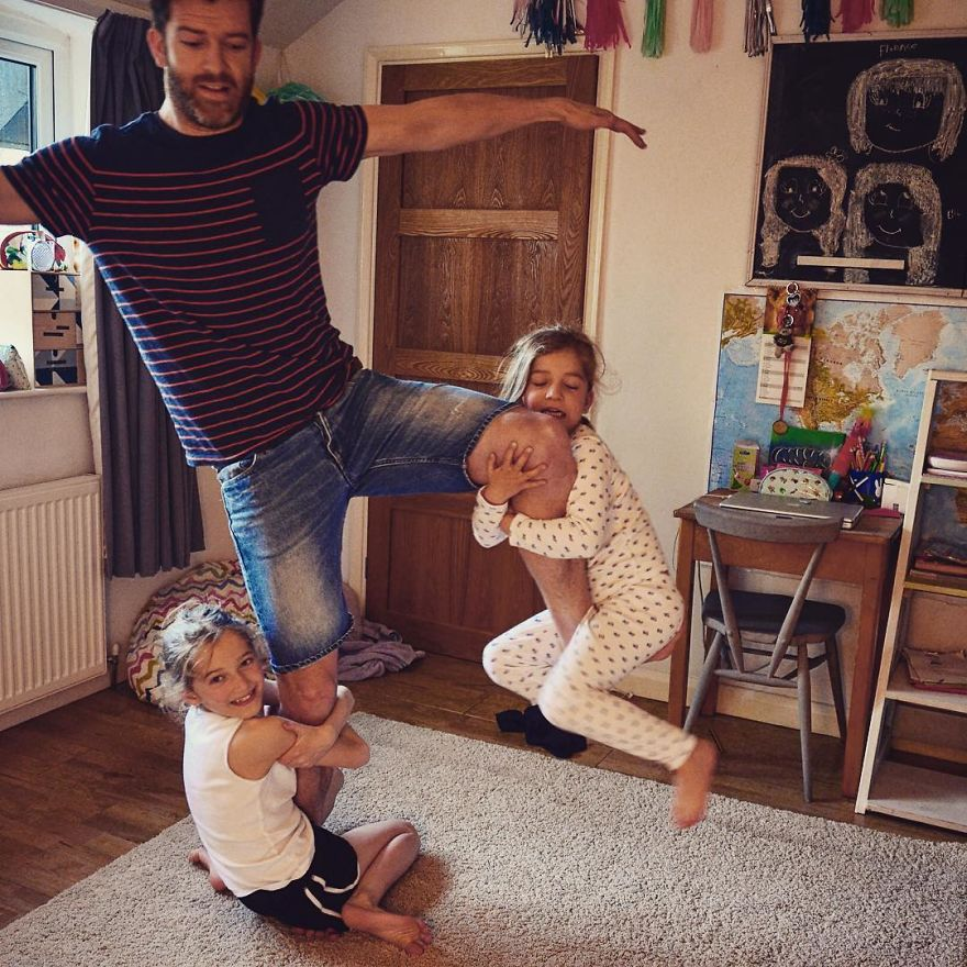 Жизнь с детьми прикольные фото