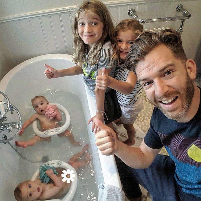 потом оказывается, прикольные фото с детьми в домашних условиях пионы