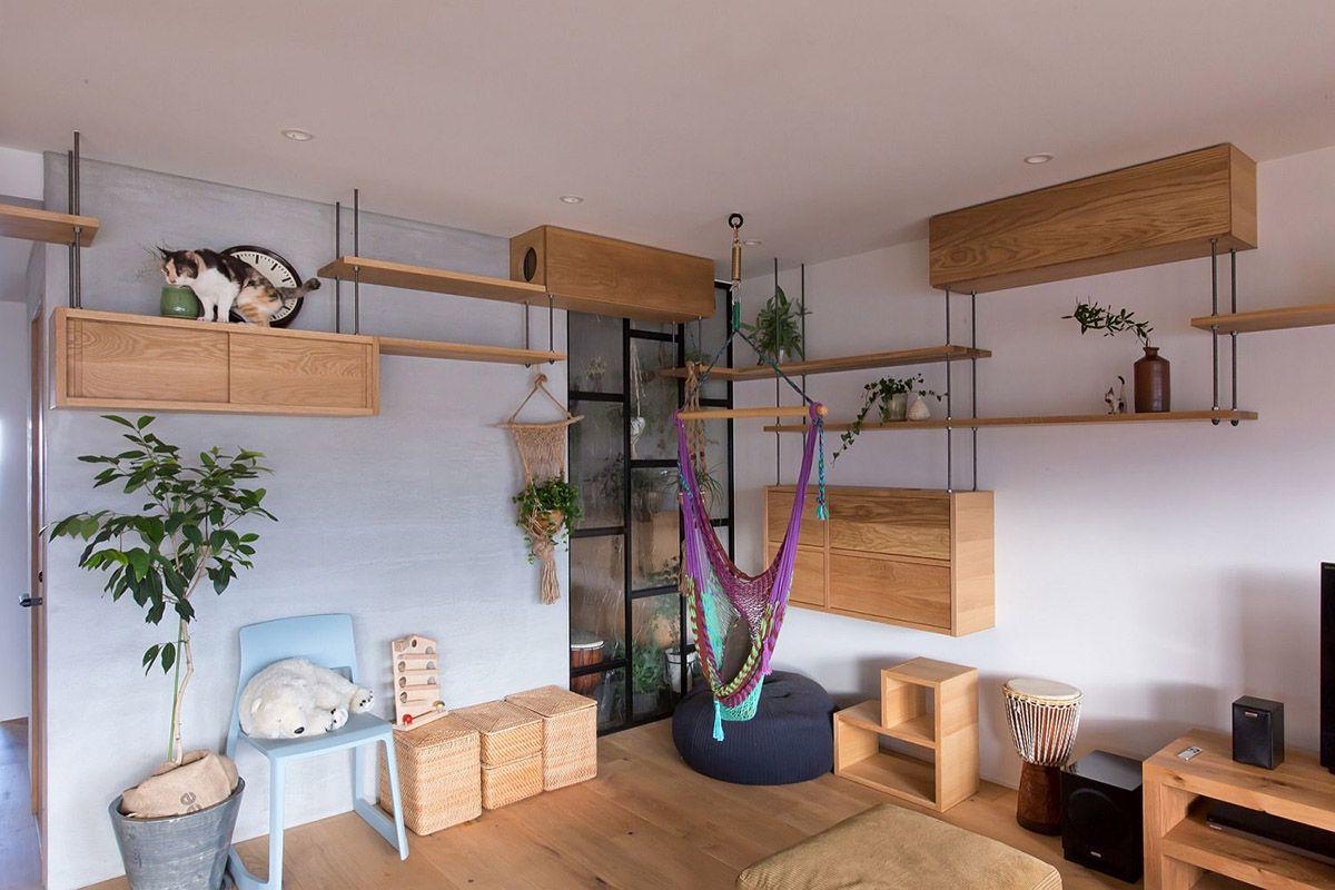 любые дизайн комнаты для кошек фото мнению